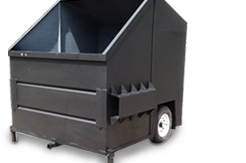 Trash Dumpster - Fabco Fabrication, Inc.